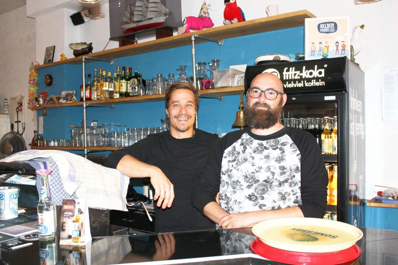 Jon und Michael Kombüse Mannheim Jungbusch