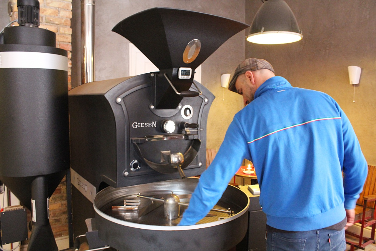 Kaffeerösterei Lauri Mannheim Gjergj Kabashi