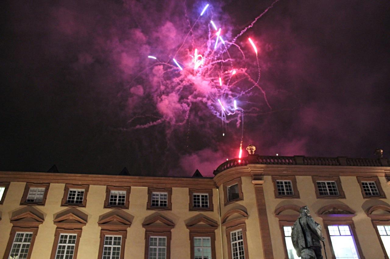 Schlossfest Mannheim Feuerwerk