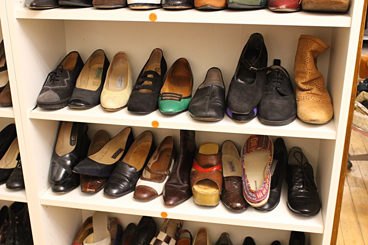 Schuhe im Sasas Vintage Mannheim
