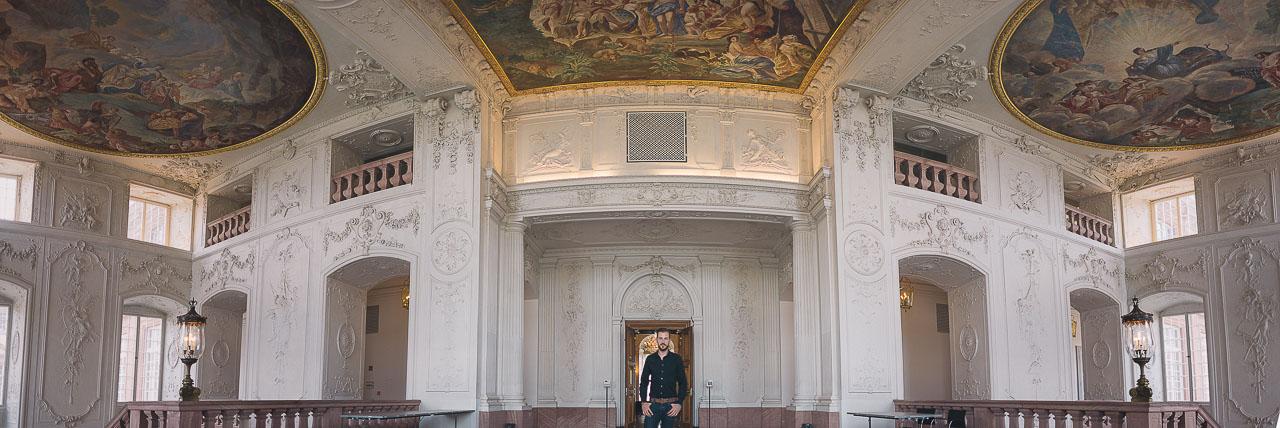 Mit Patrick Weisenburger im Mannheimer Schloss