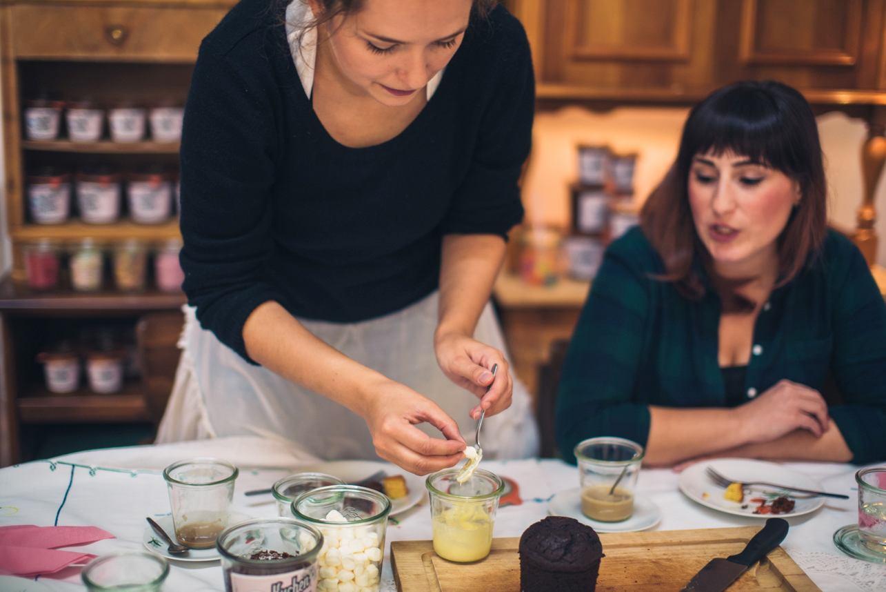 Kuchen im Glas aus Mannheim