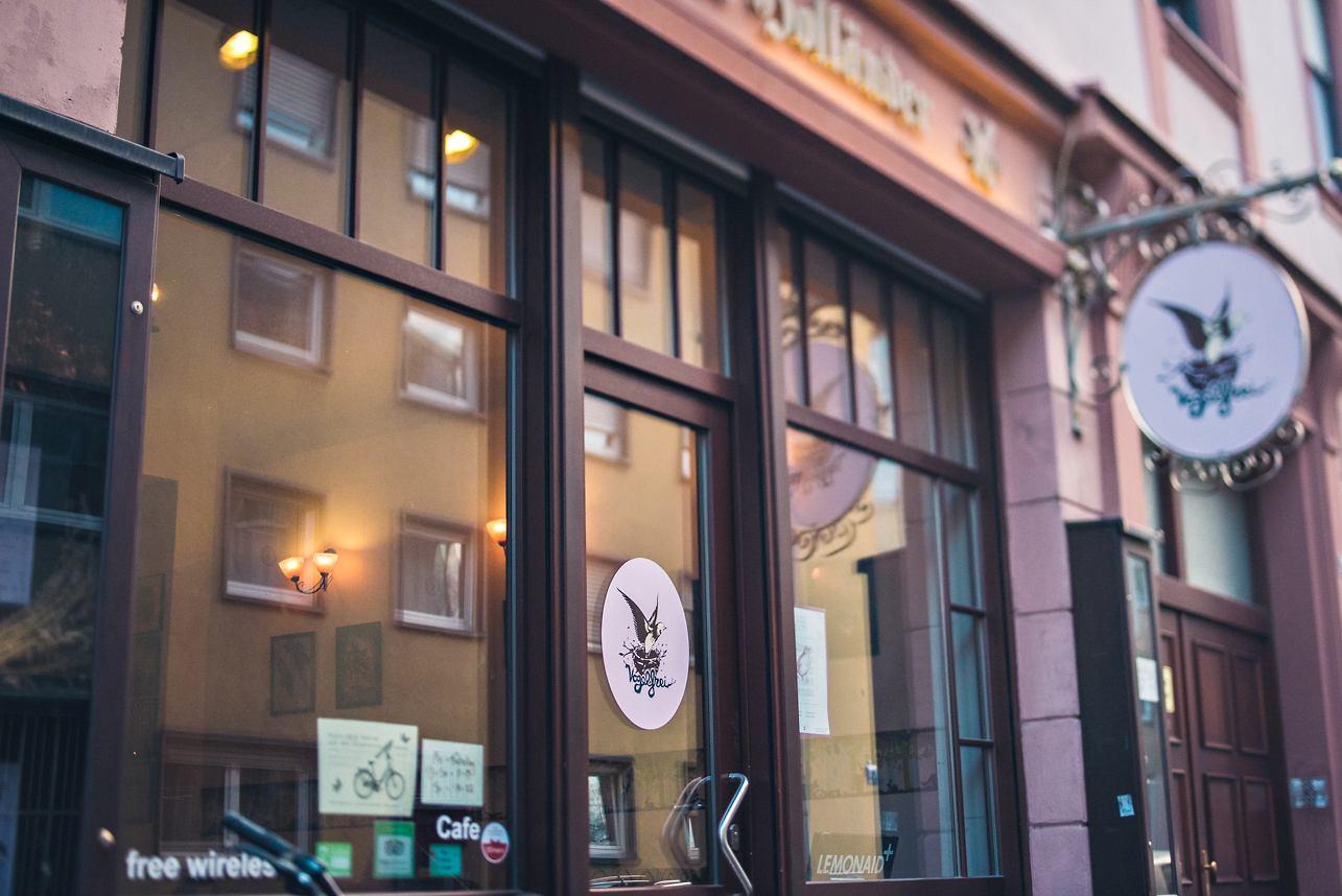 Café Vogelfrei Mannheim Außenansicht