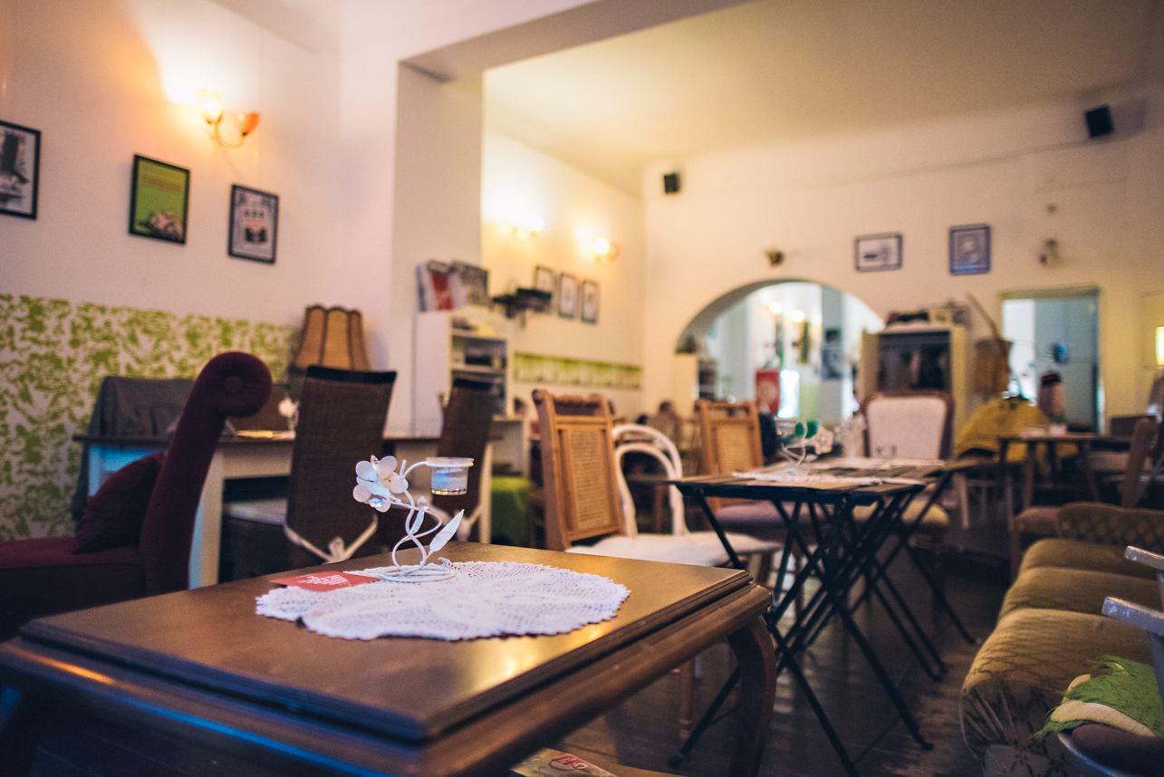 Café Vogelfrei Innenraum