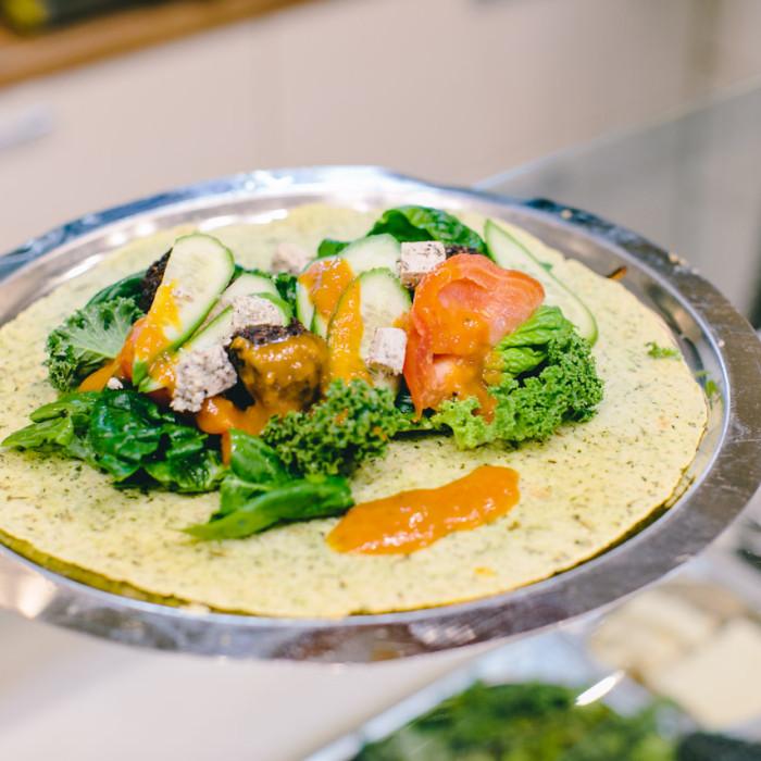 leaf-food Mannheim vegan