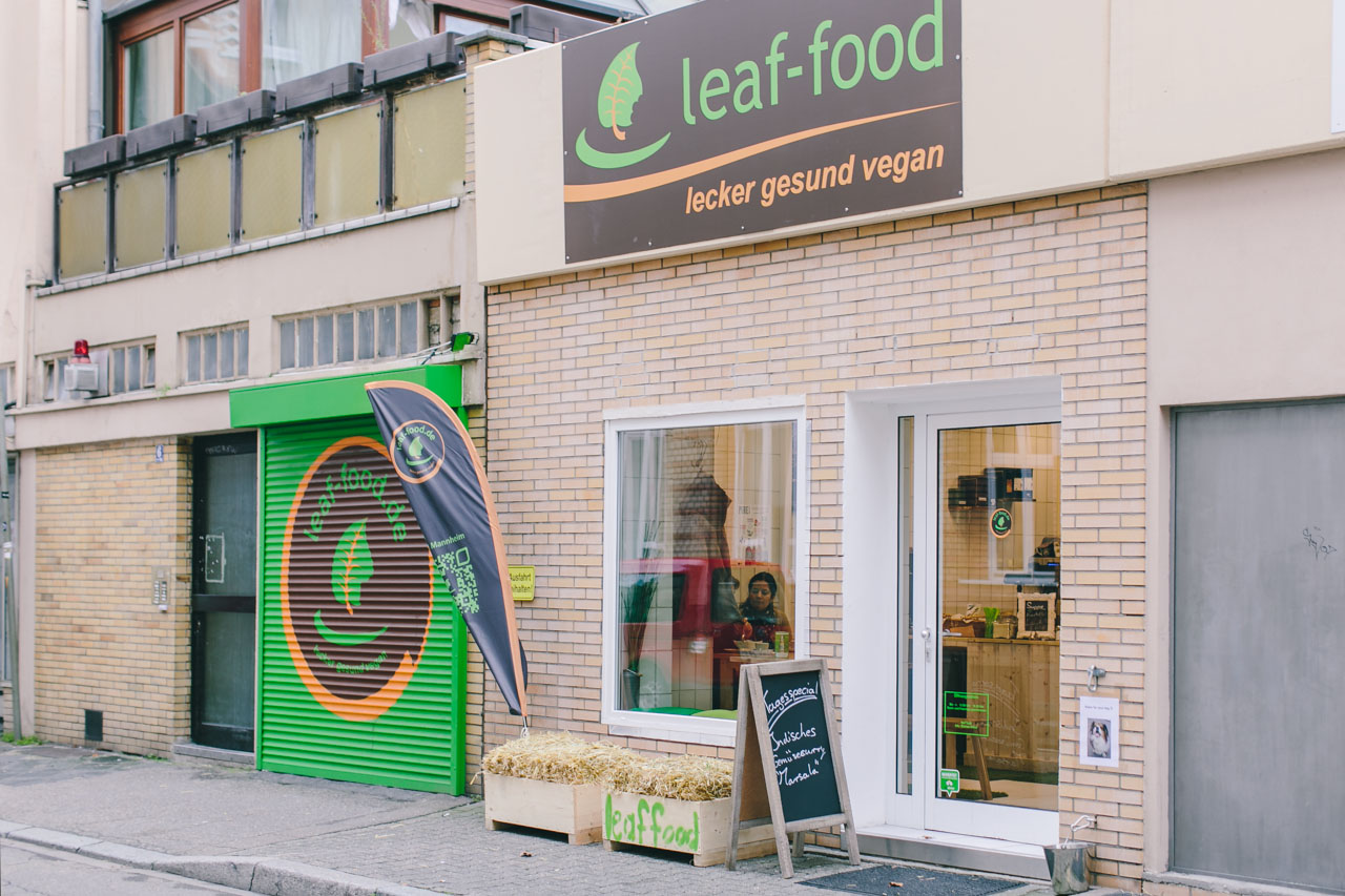 leaf-food Mannheim vegan