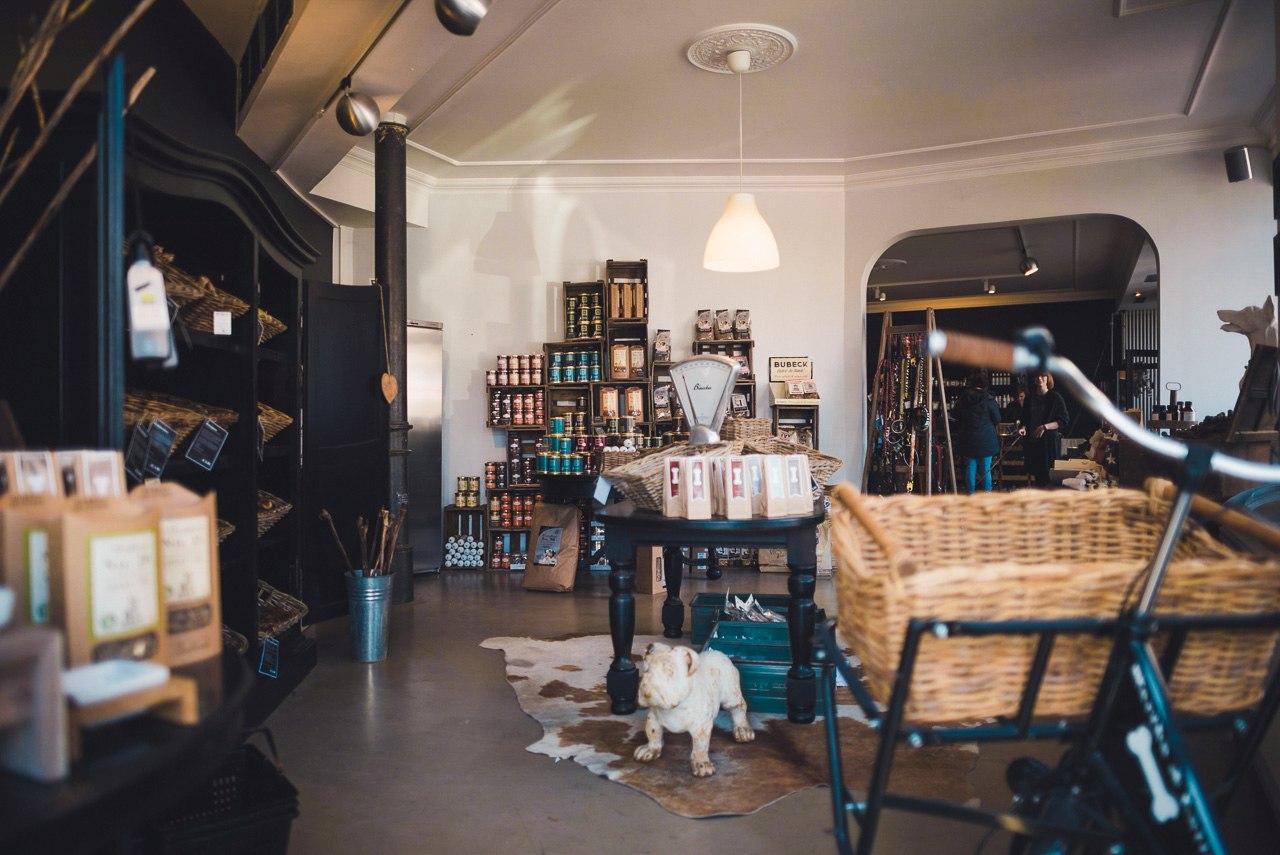 Martha & Lotte Shop Eingang
