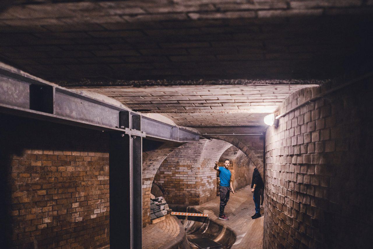 Brixy Mannheim altes Pumpwerk