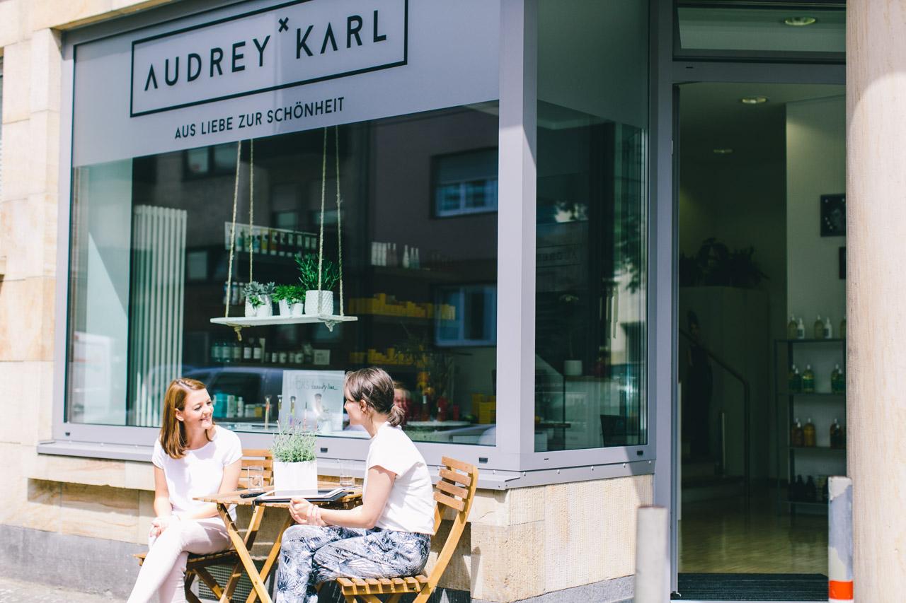 Audrey und Karl Mannheim