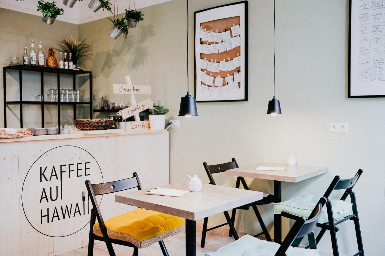 Kaffee auf Hawaii