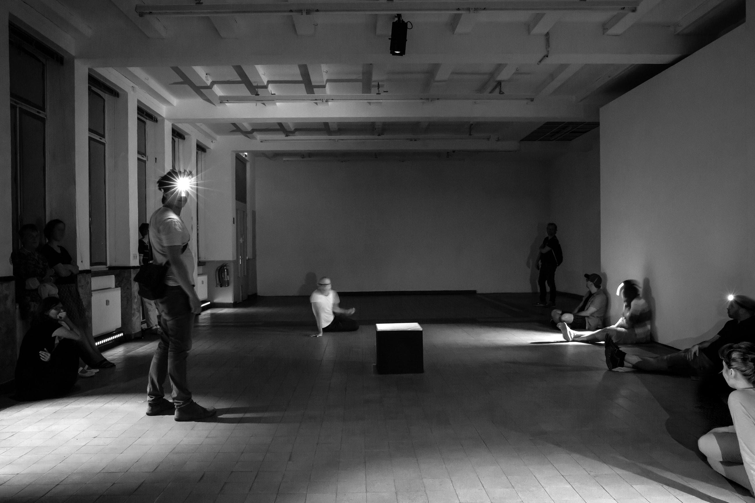 Theaterfestival Schwindelfrei, Unperforming ©Lys Y. Seng