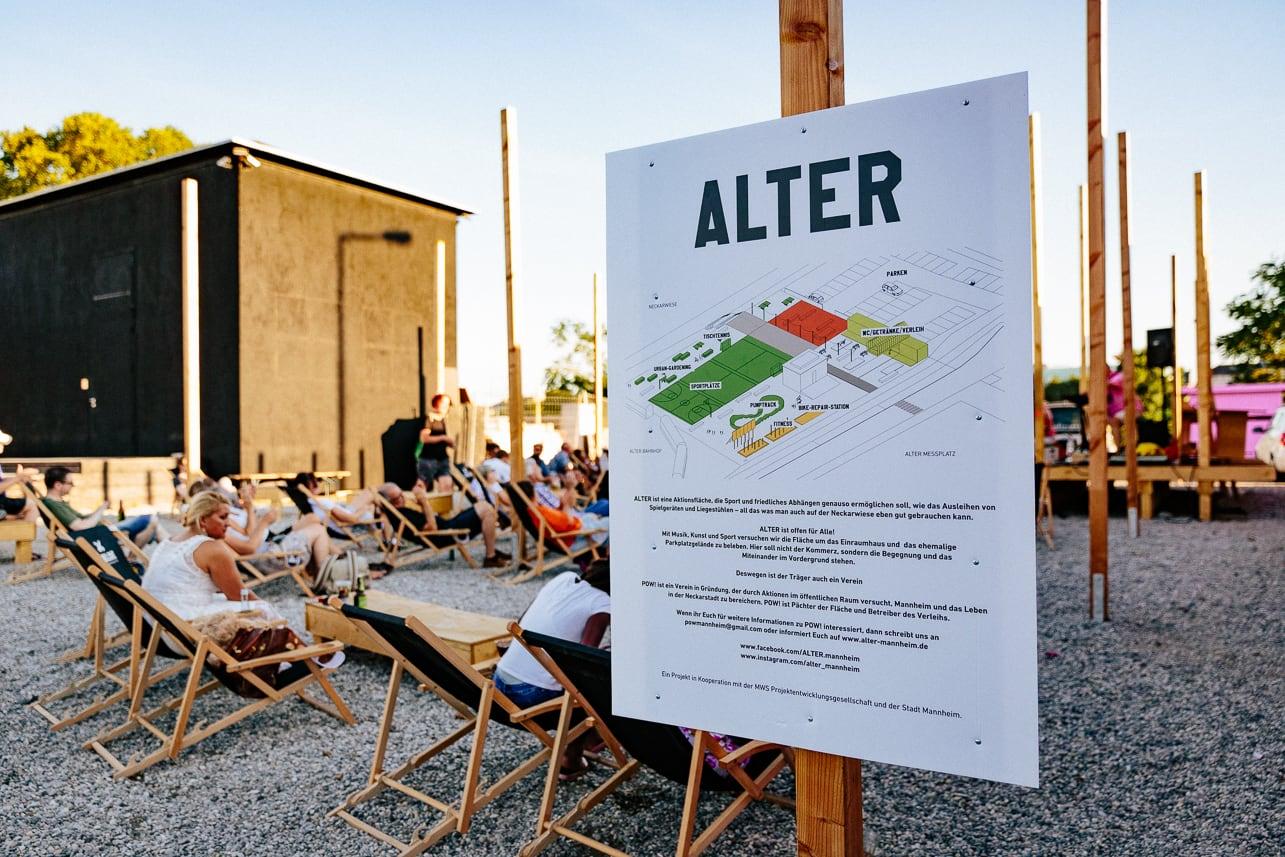 ALTER – den Sommer genießen am alten Messplatz